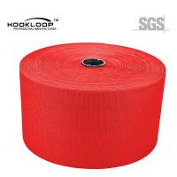 Buy 50 Yards / Roll Mushroom Hook And Loop Red Nylon Injection Hook Wide Tape Heat at wholesale prices