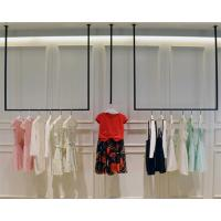 Quality Simple Design Hanging Clothes Display Rack / Retail Clothing Racks 3 Meters Height for sale