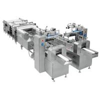 China Servo Control Automatic Bread Packing Machinery Convenient Operation on sale