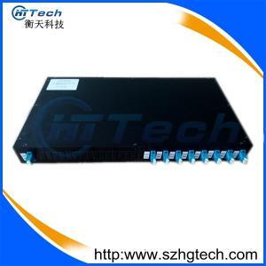 Quality 19Inch SC/UPC FTTH Rack Mounted 1*8 Fiber Oplitter Box LC Duplex for sale