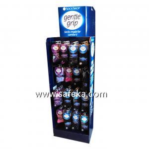 Socks POP Corrugated Pegboard Display,Hook Displays in Store