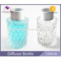Quality 40 ml Round Glass Reed Diffuser Bottles Mason Jars With Color Painted for sale