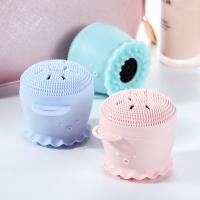 China Anti Dirt Silicone Facial Cleansing Brush , Foundation Concealer Brush Eco Friendly on sale