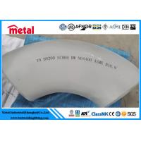 China NO4400 90 Degree Steel Pipe Elbow , LR Monel 400 Nickel Pipe Fittings on sale