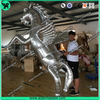 Quality Silver Inflatable Horse,Inflatable Horse Model,Inflatable Horse Cartoon for sale