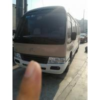 Quality 1HZ Diesel Engine LHD Used Coaster Bus 2x4 Drive 29 Seats Equipped A/C for sale