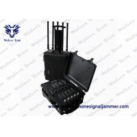 Buy cheap Portable Cellphone Signal Prison Jammer GPS WiFi Pelican Case RF Bomb Cellphone from wholesalers