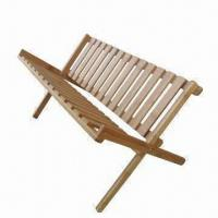 China Bamboo dish holder/rack, natural color with eco-friendly painting  on sale