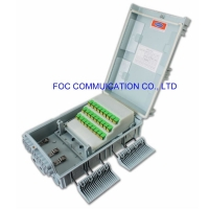 Quality 120F SC UPC Wall Mount Termination Box 1×8 PLC FATB-0424S for sale