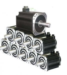 China Gear Motor Motor 400-1000 W 80 Series AC Servo Motor on sale