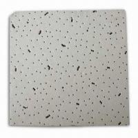 Quality Composite Mineral Fiber Acoustic Ceiling Board with No Asbestos, Easy to Install  for sale