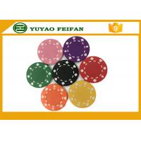 Quality Professional Heart Casino ABS Poker Chips For Playing Game Set for sale