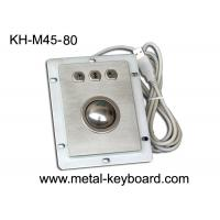 Buy cheap Waterproof Kiosk Trackball Pointing Device with 38MM Stainless Steel Trackball from wholesalers