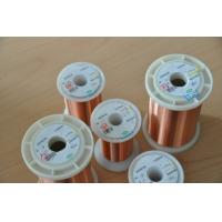Original 0.012 - 0.8mm Ultra Fine Copper Wire Good Conductivity For Automotive