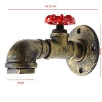 Quality Vintage Retro Rustic Water pipe wall light for Dining room Bar Coffee Shop (WH-VR-02) for sale