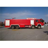 Quality Darley Pump Commercial Fire Trucks 11775×2500×3700mm Dimension Drive 8x4 for sale