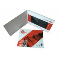 Quality Whole world Regional Feature and Greeting Card Card Type LCD video brochure card for sale