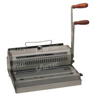 China WB-2220 Wire Manual Binding Machine Two Handle Electric Punching Holes on sale