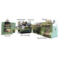 Quality 50Hz Cigarette Making Machines with MK9 Maker , MAXS Plug Assembler HCF80 for sale