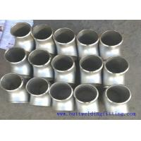 Buy cheap Butt welding fitting Tee Size 1-48inch from wholesalers