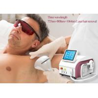 China Semiconductor Diode Laser Hair Removal Equipment 808nm 755nm 1064nm Wavelength on sale