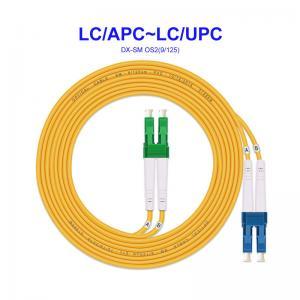 Quality LC APC LC UPC OS2 Single Mode Fiber Optic Cable for sale