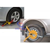 Quality Trucks / Big Vehicle / trailer wheel clamp lock Adjustable Size , Easy operate for sale