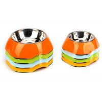 Buy Two Size Multi Color Cool Pet Bowls , A5 Melamine With Anti Slip Pet Dishes Bowls at wholesale prices