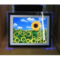 Buy Video / Audio / Photo 15 Inch Personalized Digital Photo Frame With LED Light at wholesale prices