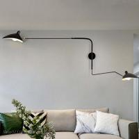 Buy cheap Nordic DaWn Spider Serge Mouille Wall Lights Rotary Long Pole Swing Arm Wall from wholesalers