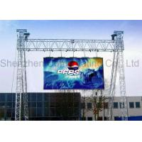 China Ultra Thin LED Moving Message Display Outdoor SMD P4.81mm Full Color 1R1G1B IP65 on sale