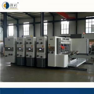Quality Auto Flexo Printer Slotter Machine / Carton Manufacturing Machine High Speed for sale