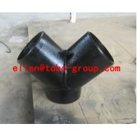 Quality TOBO STEEL Group carbon&stainless&alloy steel Y tee for sale