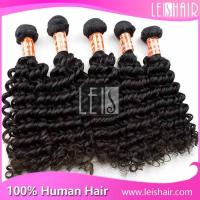 Quality Pure unprocessed virgin indian kinky curly hair for sale