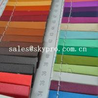 Quality 0.8mm sofa Leather high quality black pvc leather 3D printing pu leather fabric for sale