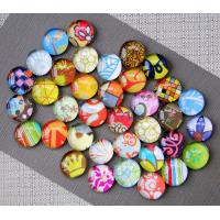 China Crystal Glass Decorative Refrigerator Magnets Permanent Type Custom Color on sale