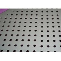 Quality Rust Resistant Round Perforated Metal Hot Dipped Galvanized Surface Treatment for sale