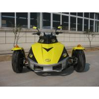 Quality ATV 250CC Tricycle Motorcycle Yellow Racing With Single Cylinder for sale