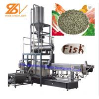 Quality 4t/H Staineless aquatic fish Feed Extruder Machine With Siemens Motor for sale