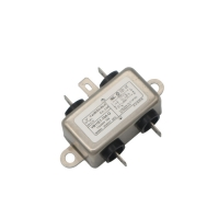 Quality Low Pass Electrical Equipment AC 250V Socket EMI Filter 10A for sale
