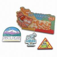 Quality Colorful Refrigerator Magnets Made of Metal or Plastic for sale