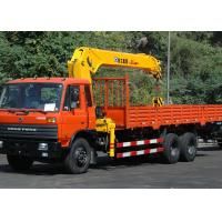 Quality 12T Telescopic Boom Truck Mounted Crane For Telecommunication Facilities, 30 T.M for sale