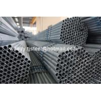 Quality hollow steel pipe fitting / hot dipped galvanized steel pipe / steel pipe welded for sale