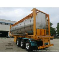 Quality Heating Insulated 30FT Tank Container Stanless Steel For Liquid Phosphoric Acid WhatsApp+8615271357675 for sale