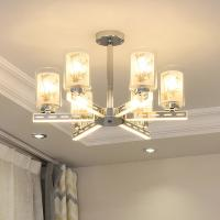 Quality Modern arms glow led chandelier with Glass lampshade (WH-LC-07) for sale