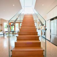 Quality Commercial Metal Stairs / Build Marble Stair / Internal Staircase for sale