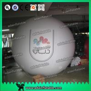 Quality 2.5m PVC Inflatable Helium Big Sky Balloon Advertising With Logo Printinga for sale