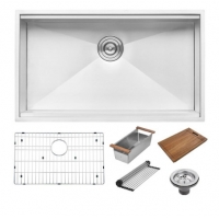 Quality Good Quality  Undermount Single Bowl Kitchen Sink Buy Stainless Steel Kitchen Sink for sale
