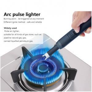 Quality Double Arc Pluse Usb Plasma ARC Lighter Zinc Alloy Eco Friendly 34*73*11MM Size for sale