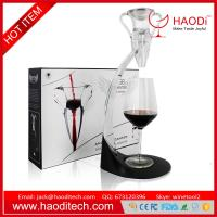 China Luxury Angel Decanter Wine Champagne Liquor Aerator with Stand With Luxury Box Sets on sale